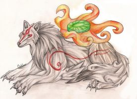 Okami by light-askha