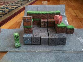 Minecraft Papercraft by Coall