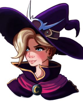 Witch Mercy by Fawkes29
