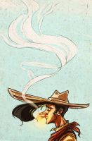 lucky luke by MostTraumatic