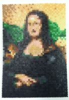 Perler Art: Mona LIsa by thewiredslain