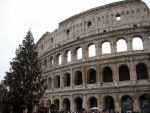 Christmas at the colosseum by Akamasdiver