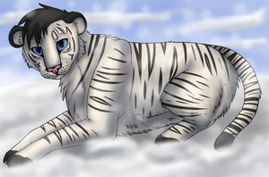 White Tiger by Kayle-kins