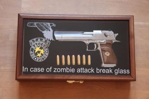 In case of zombie attack... by Marryl