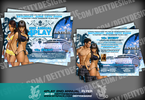 4 PLAY CRUISE PARTY LINGERIE by DeityDesignz