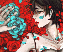 blood+ - madly blooming roses by chupachup