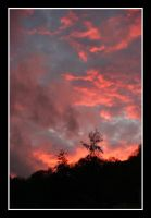 there's a fire in the sky by JacquesPhotography
