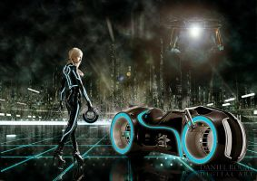 TRON by Daniel-Rocal