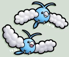 Little Fluffy Clouds by TheSerotonin
