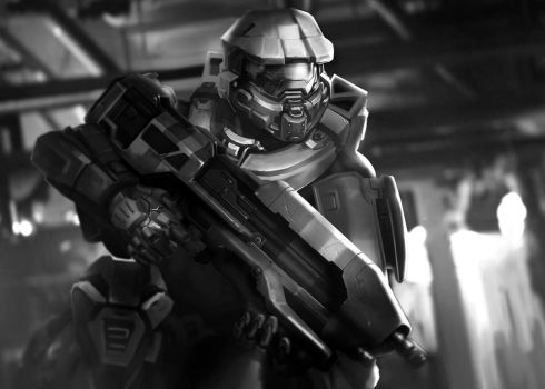Master chief by Lampblak
