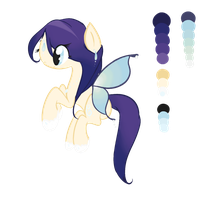 Pair Of Wings : Lithe Blue by Laurel3aby