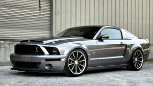 mustang ford by Akoo97