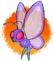 Butterfree by Draco-Digi
