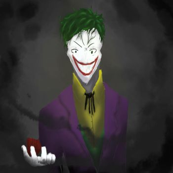 The Man Who Laughs by gaara-222