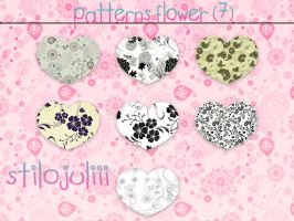 Flowers Patterns By StiloJuliii by StiloJuliii
