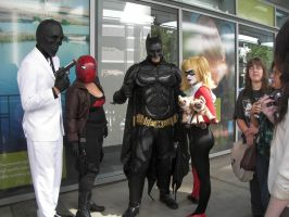 SacAnime Cosplay: Batman Group by wolfforce58