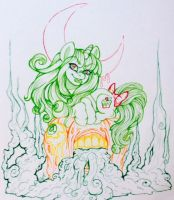 Pumpkins of Equestria = Contest Entry *INKS by GarbageGoddess