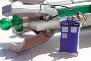 Darling Doctor Who TARDIS Key Chain Charm by DarlingArmy