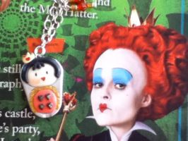 Tim Burton's Red Queen necklace by PandoraLuv