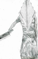 Pyramid Head(Silent Hill) by 666mephistopheles