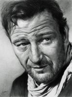 John Wayne by CubistPanther