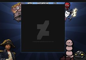 HJTenchi Twitch layout by Runningboxdesign