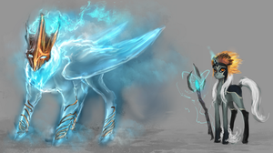 MLP Air golem pony and mage auction 54 CLOSED by ElkaArt