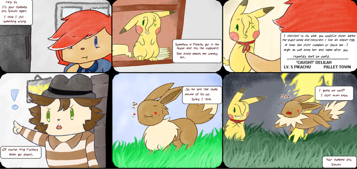 Hey There Delilah-- Pokemon Yellow Nuzlocke Page 1 by Star-Gazr44