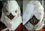 Death Note Sidoh Mask WIP III by Satanizmihomedog