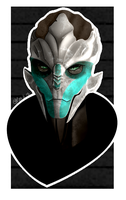 Turian by AshWoodJ