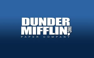 Dunder Mifflin Wallpaper by CTU-01