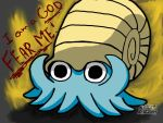The Almighty Helix,Omanyte-Text Version 4 by Destiny-The-Hedgimon