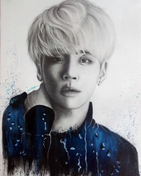 #9YearsWithSHINee - Jonghyun by Art-Ablaze