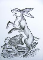 The Tortoise and the Hare by HouseofChabrier
