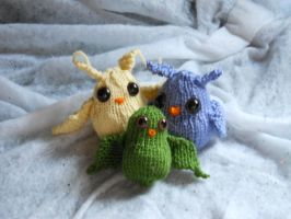 Owl family for Zaphy1415926 by NevynS