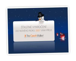 www.czechwalker.com Xmas card by molumen
