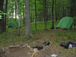 733 - camping by WolfC-Stock
