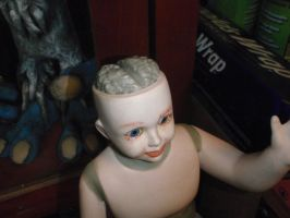 Baby Doll Head by hellgnome