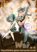 DxG: This means war.. by Dalhia-Gwen