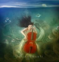 Cello by JDewantiArt