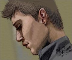 Dean Winchester in Fresh Blood by Sillie