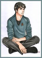 SPOCK by GilwenGreenleaf
