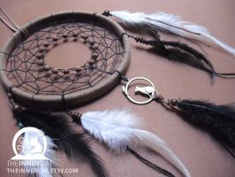 Cat and Mouse Dream Catcher by TheInnerCat