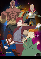 The Five Kage by Cclaire110