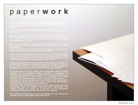 Paperwork by dreamerworx