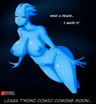 LIARA T'SONI COMIC COMING SOON by Witchking00