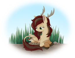 Waiting Patiently by Sycotei-B
