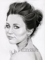 Miley Cyrus - Adore You by aleexart