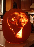 E.T. Pumpkin by hondahb6
