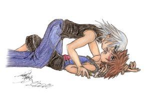KH: Yaoi- I Need You by oXMiDoRiXo